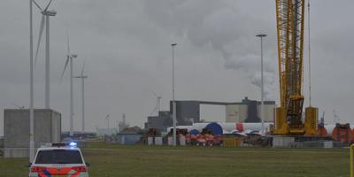 Rookwolken boven het complex van Holland Malt. Foto: Rutger Slagter - 112Groningen