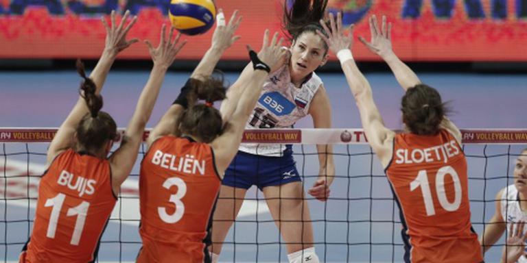 Zware loting volleybalsters op Spelen
