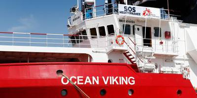 Oplossing voor migranten Ocean Viking
