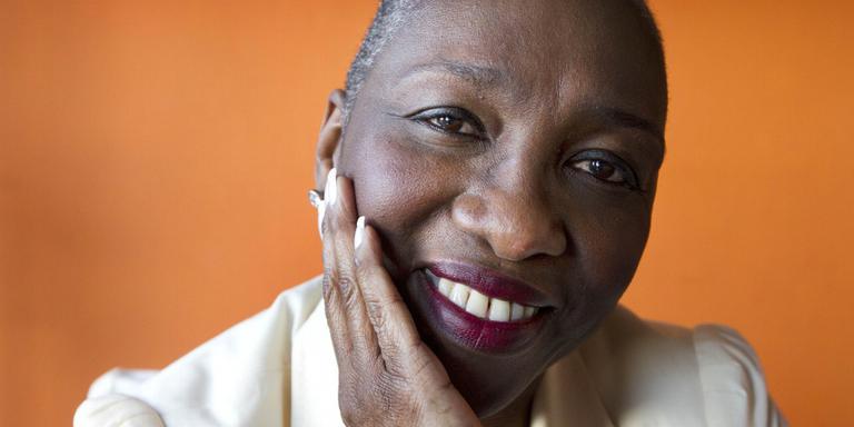 Glenda Magloire: ,,We latne mensen zien dat ze tot heel wat in staat zijn.'' FOTO HARRY TIELMAN