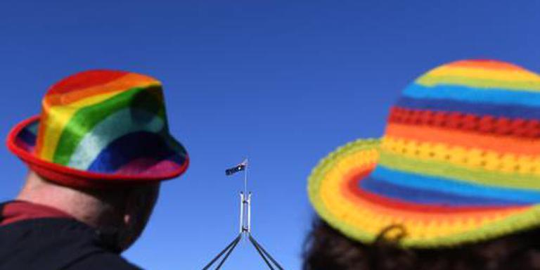 Australië stemt in met homohuwelijk