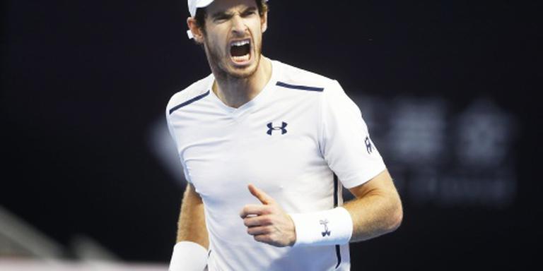 Murray naar finale in Peking