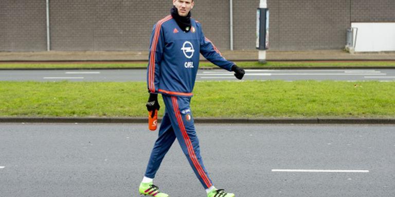 Seizoen voor Feyenoorder Kramer voorbij