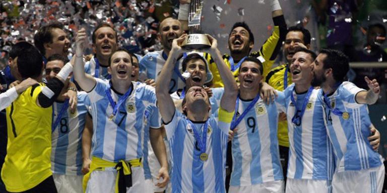 Argentijnen veroveren wereldtitel zaalvoetbal