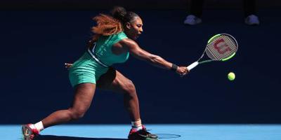 Serena Williams zonder moeite verder