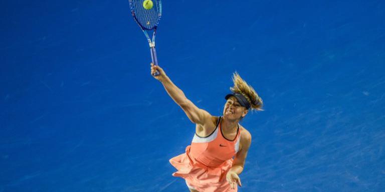 Sjarapova simpel verder op Australian Open