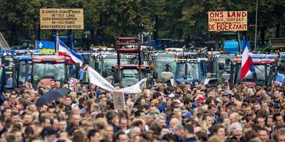 Het Malieveld op 1 oktober toen boeren ook massaal naar Den Haag reden. Foto: ANP/Sem van der Wal