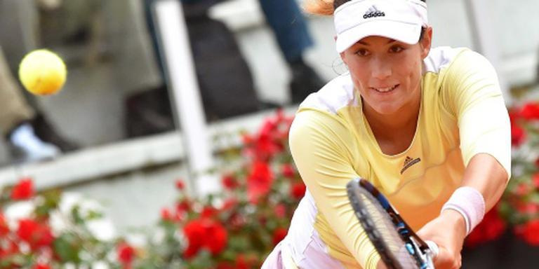 Muguruza moeizaam door op Roland Garros