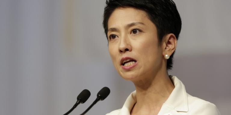 Japanse oppositie kiest vrouw als leider