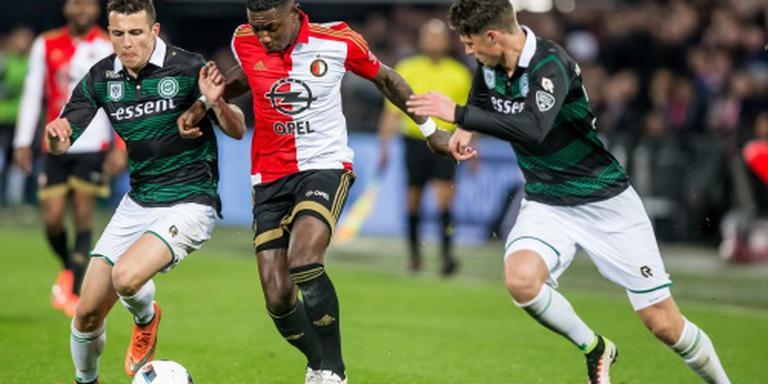 Einde aan zegereeks Feyenoord