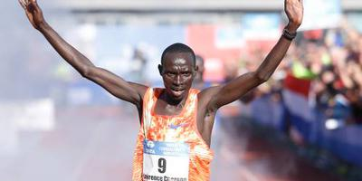 Cherono loopt snelste marathon in Nederland