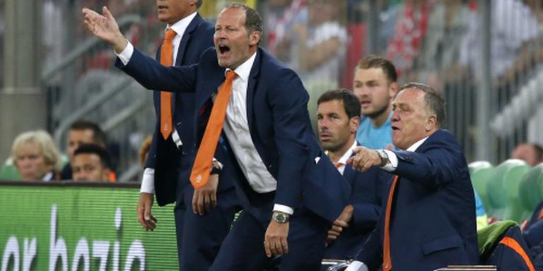 Blind tevreden over Oranje