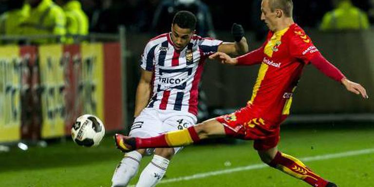 Willem II te sterk voor Go Ahead