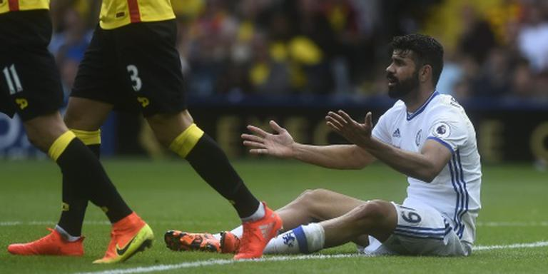 Chelsea dankt Costa in Swansea