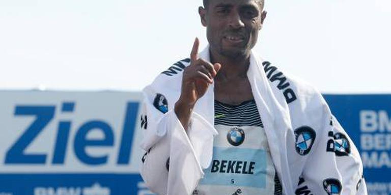Bekele loopt marathon van Amsterdam