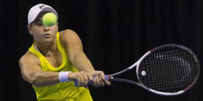 Titel in Nottingham voor Barty