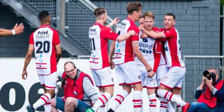 FC Emmen zet stap richting finale play-offs