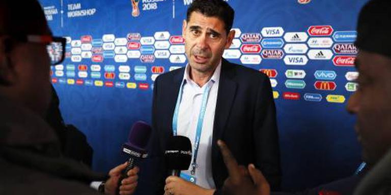 Hierro bondscoach van Spanje op WK