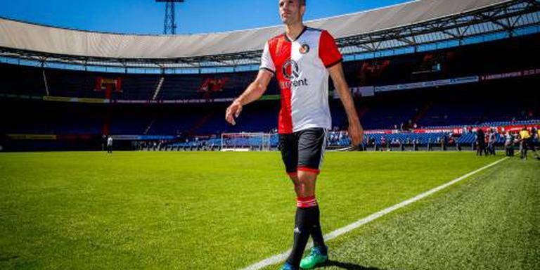 Van Persie nieuwe aanvoerder van Feyenoord