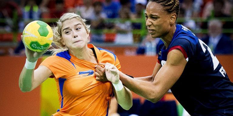 Frankrijk houdt handbalsters uit finale Rio