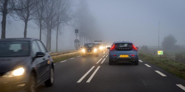 Waarschuwing voor dichte mist in ochtendspits
