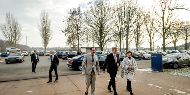 Koning bezoekt Ter Apel met Dijkhoff