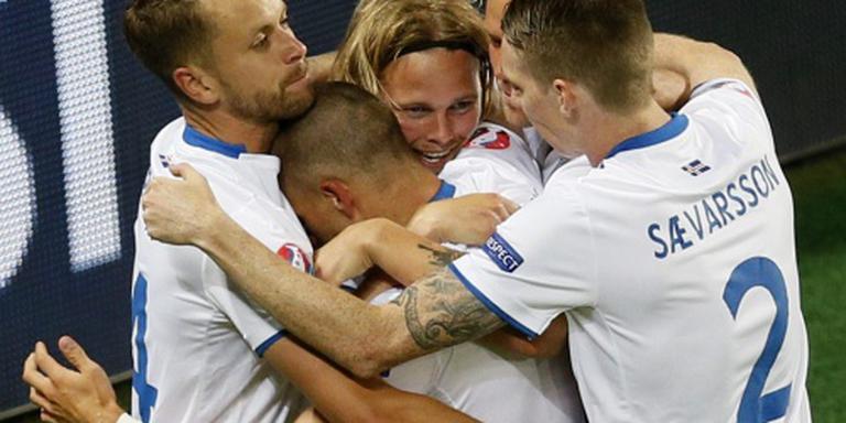 IJsland debuteert met 1-1 tegen Portugal