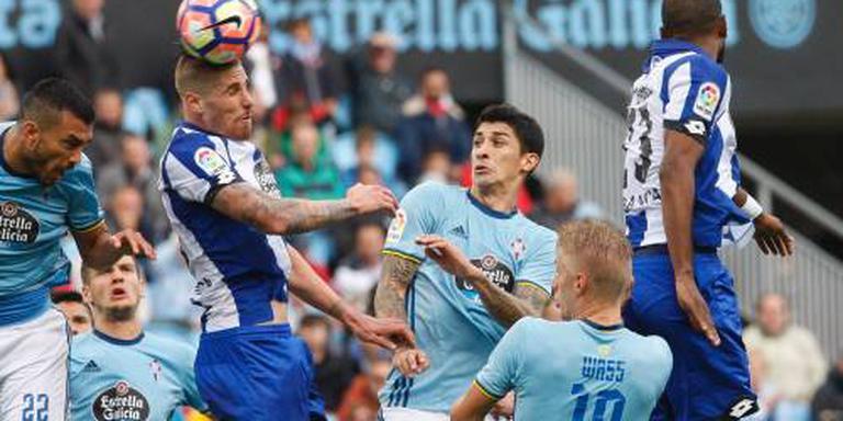 Celta wint Galicische derby