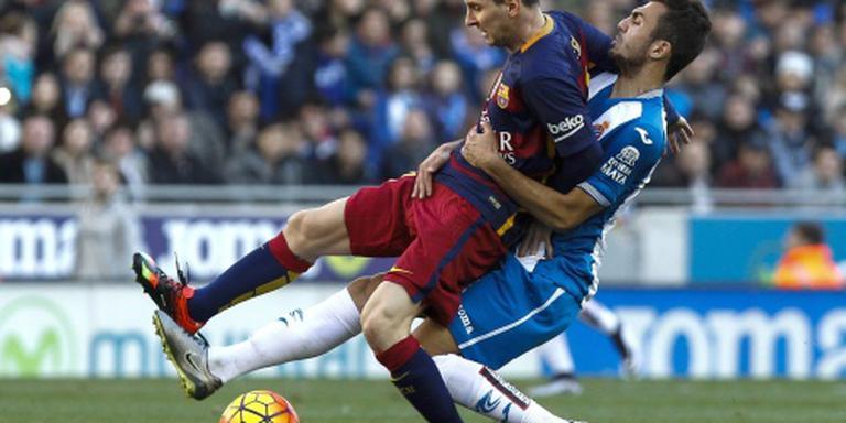 Barcelona niet langs stadgenoot Espanyol