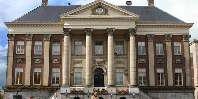 Het stadhuis van Groningen. FOTO ARCHIEF DVHN