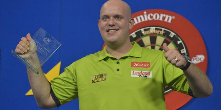 Darter Van Gerwen gooit ninedarter op UK Open