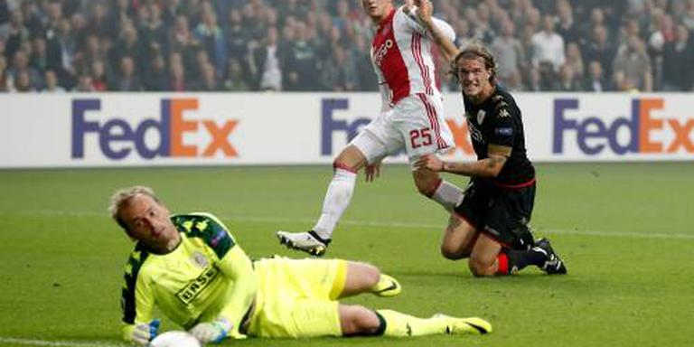 Standard stoot Anderlecht uit beker