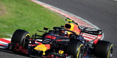 Verstappen vijfde in droge training