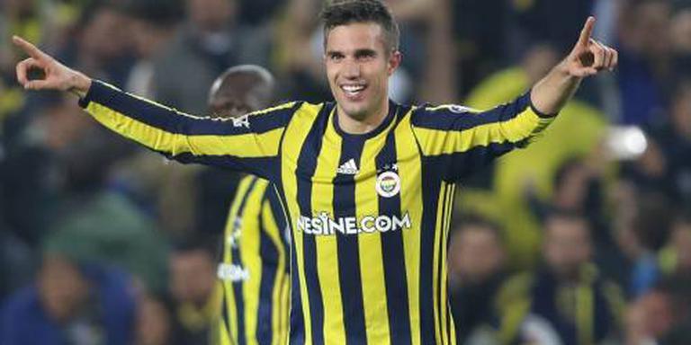 Van Persie grote man bij Fenerbahçe