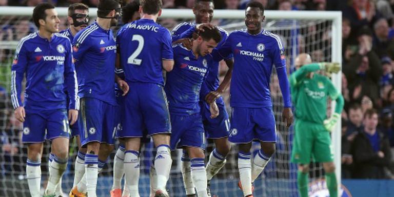 Klinkende zege Chelsea op Manchester City
