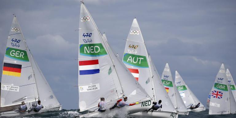 Zegers en Van Veen houden kans op medaille