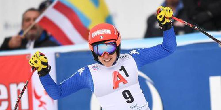 Brignone wint voorlaatste super-G voor Spelen