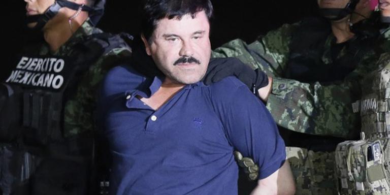 'El Chapo vluchtte via rioolbuis'