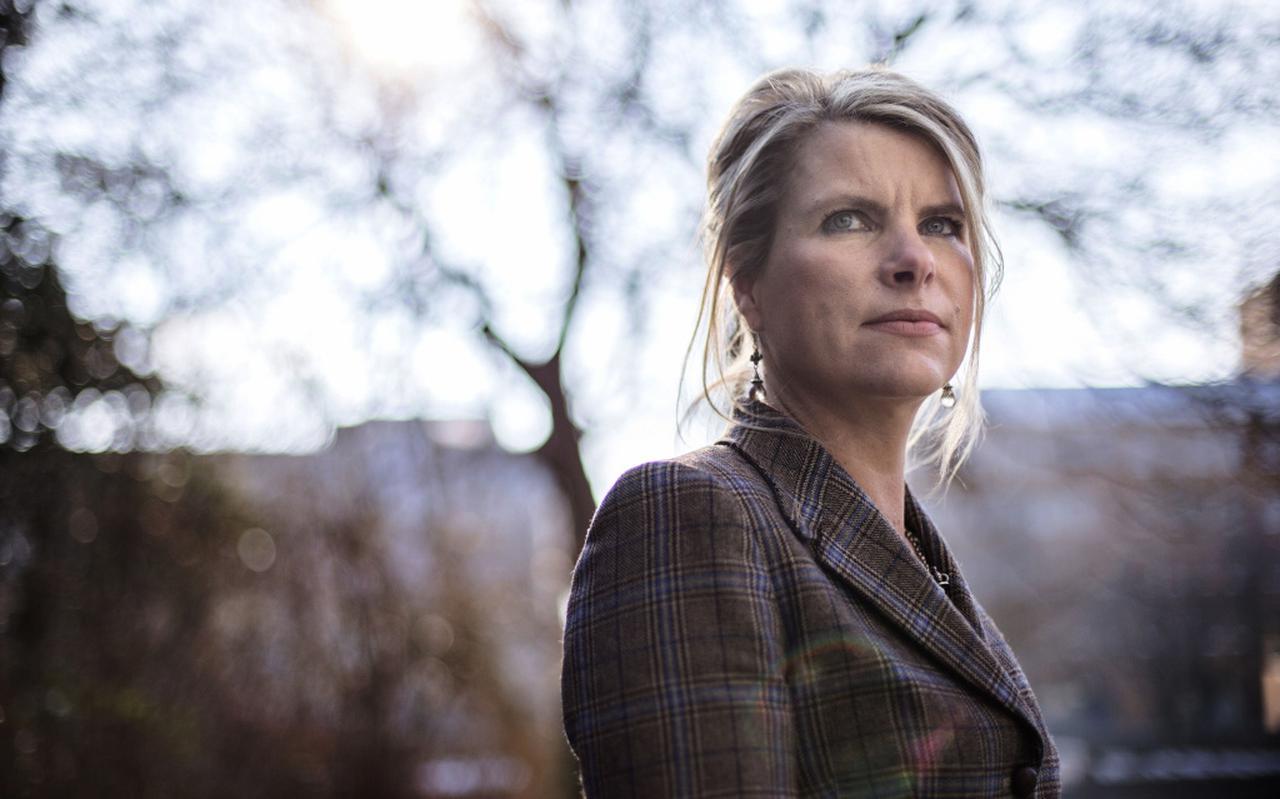 Advocaat Liesbeth Poortman.