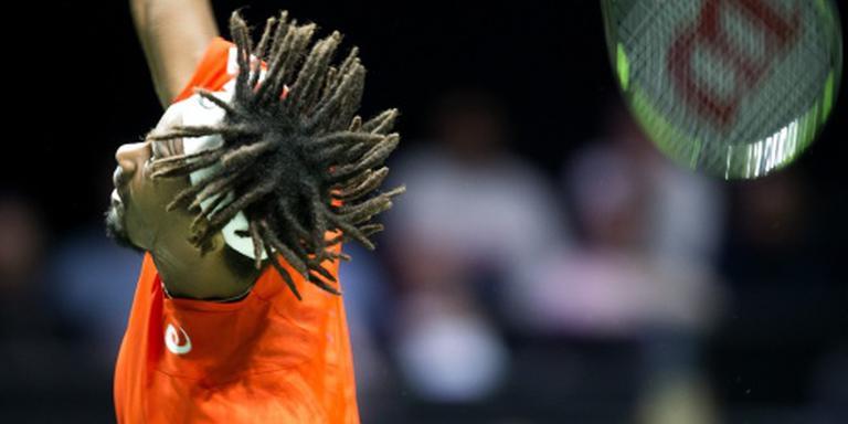 Monfils wint in drie sets van Coric