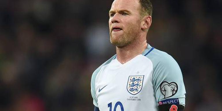 Rooney met knieblessure terug naar huis