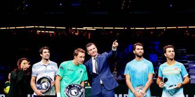 Rojer verliest finale dubbelspel in Rotterdam