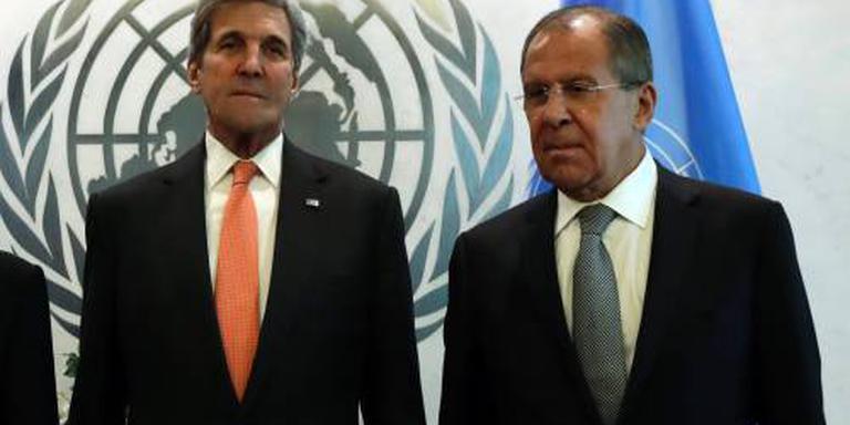 Kerry en Lavrov zoeken oplossing voor Syrië