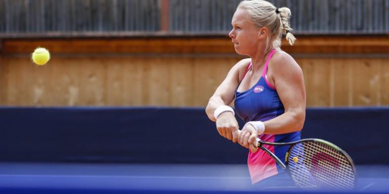Bertens stoot door naar finale in Gstaad