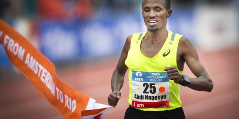 Nageeye zesde op halve marathon