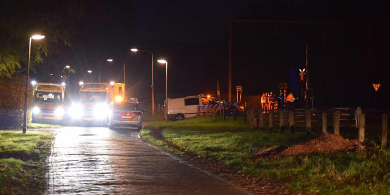 Treinverkeer Assen - Groningen Europapark gestremd door aanrijding.
