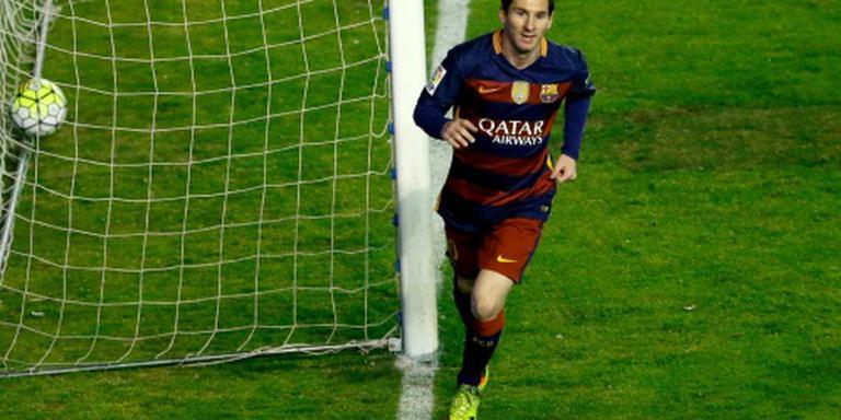 Messi opnieuw trefzeker