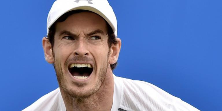 Murray opnieuw finalist op Queen's