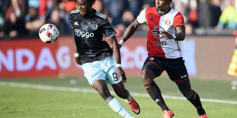 Feyenoord speelt gelijk tegen Ajax