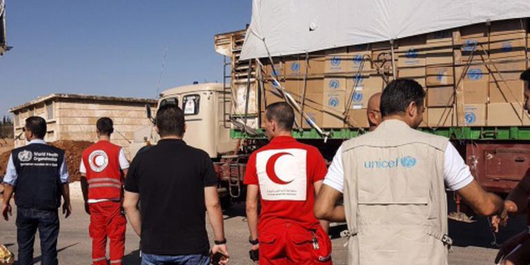 Minder slachtoffers aanval op Rode Kruis